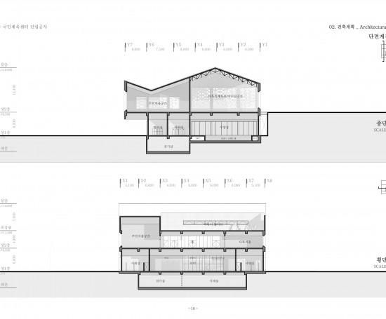 서충주 국민체육센터 건립공사 건축설계공모